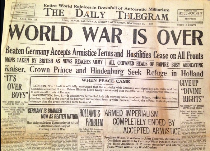 End of World War I End%20of%20World%20War%20One