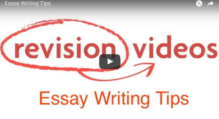 Essay Writing Tips Video Link