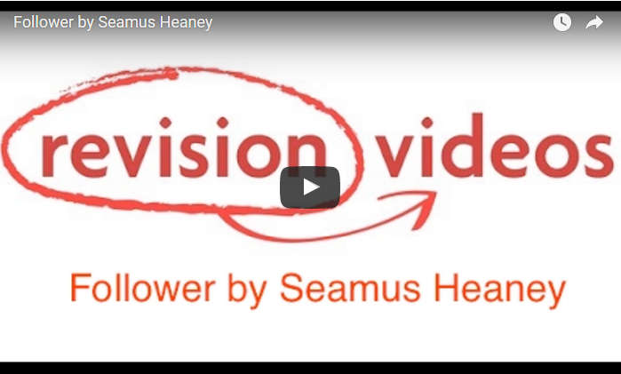 follower seamus heaney Heaney was a professor at harvard from 1981 to 1997 and also its poet in  residence from 1988 to 2006 between 1989 and 1994, he was also.