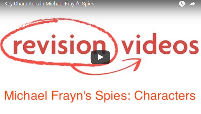 Spies by Michael Frayn Video Link