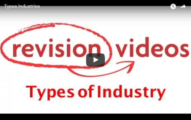 Types of Industry Video Link