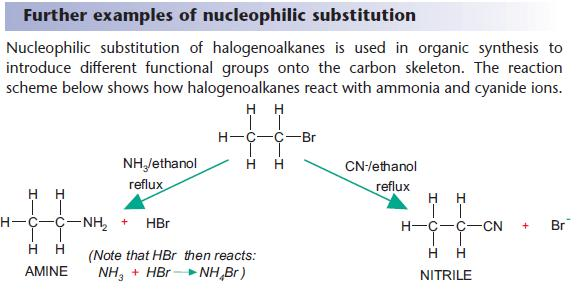 rates of reaction of the halogenoalkanes essay Which of the structures below is an aldehyde which statement about the reactions of halogenoalkanes with the rate of an s n 1 reaction depends on the.