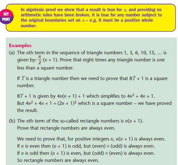 Algebraic proof – Algebraic Proofs Worksheet with Answers