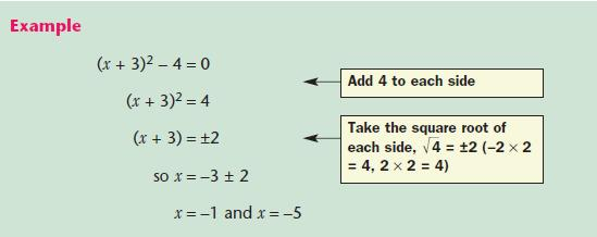Quadratic Equations Mathematics Gcse Revision