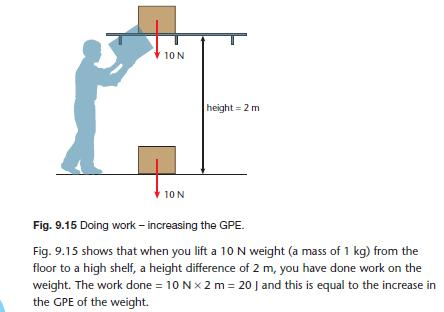 Work, energy and power | gcse-revision, physics, forces-motion, work ...