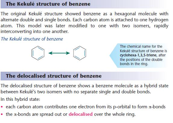 how to draw kekule structure