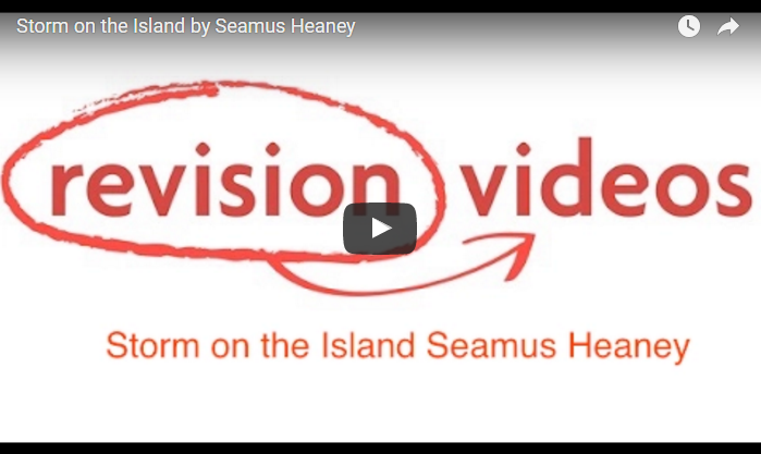 Storm Island by Seamus Heaney Video