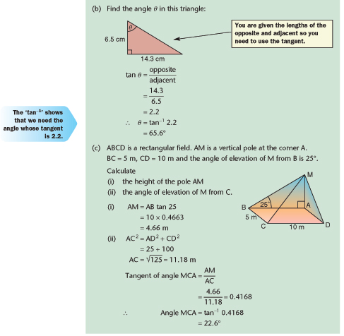 trig worksheets