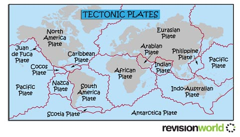 Tectonic Plates | Revision World