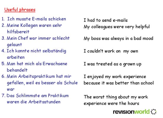 german work experience coursework If you don't have work experience, you shouldn't worry you still have a good chance of landing an interview the student in the example below doesn't have any experience, but still made a solid resume that will catch an employer's attention.